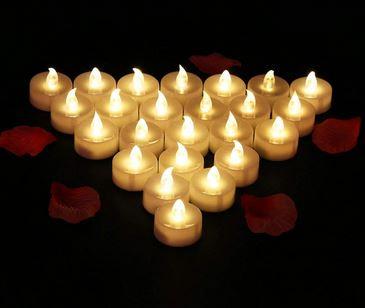 La tendance des bougies LED